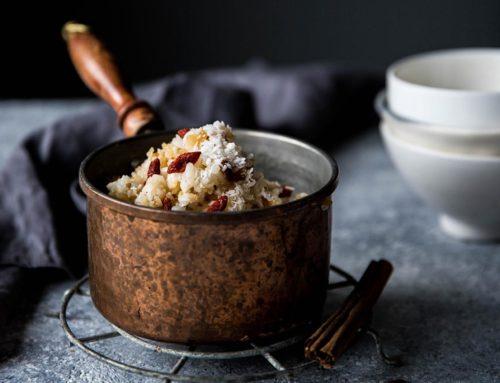Каша рисовая с годжи