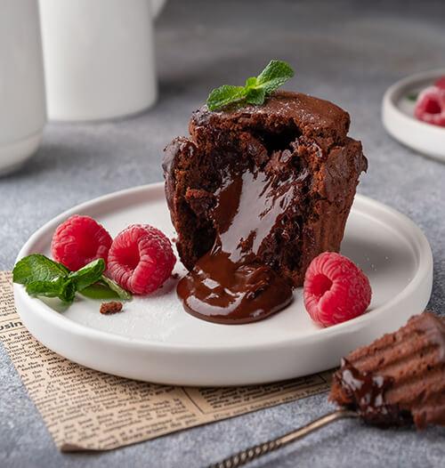 Шоколадный десерт из бельгийского шоколада