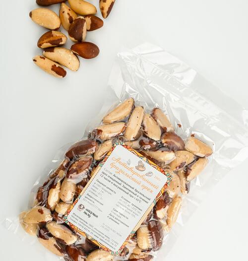 Активированный бразильский орех